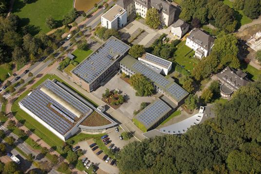 Das Bild zeigt das Riesener Gymnasium
