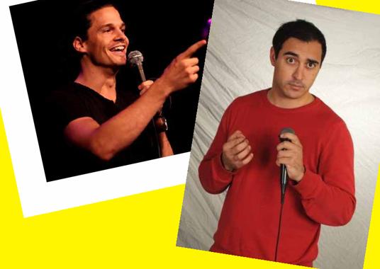 Das Bild zeigt die Comedy-Veranstaltung