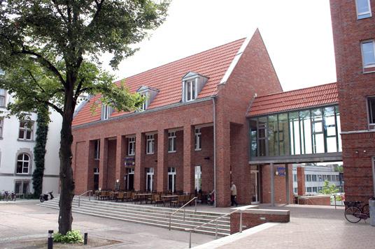 Das Bild zeigt das Rathausbistro