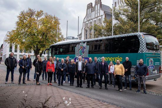 Stadtrundfahrt mit Politik und Verwaltung