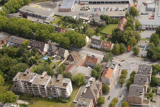 Das Bild zeigt die Grabenstraße