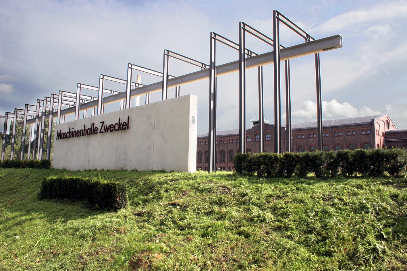 Das Bild zeigt die Maschinenhalle in Zweckel