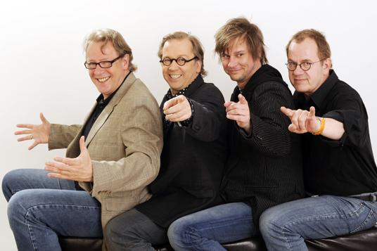 Das Bild das Kabarett-Ensemble