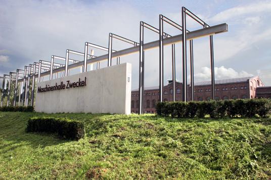 Das Bild zeigt die Maschinenhalle