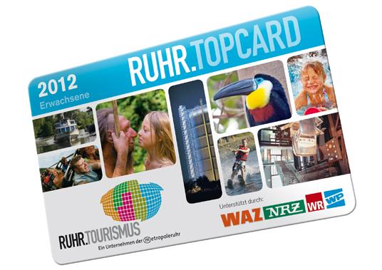 Das Bild zeigt die Ruhrtopcard