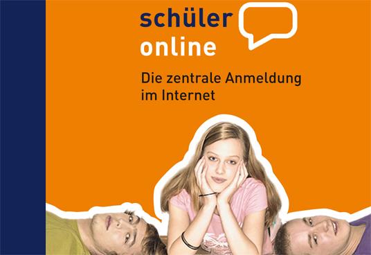 Das Bild zeigt das Logo von Schüler online
