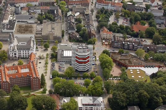 Das Bild zeigt die Friedrichstraße