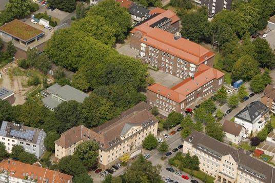 Das Bild zeigt die Wittringer Schule