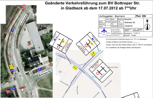 Das Bild zeigt die Bottroper Straße