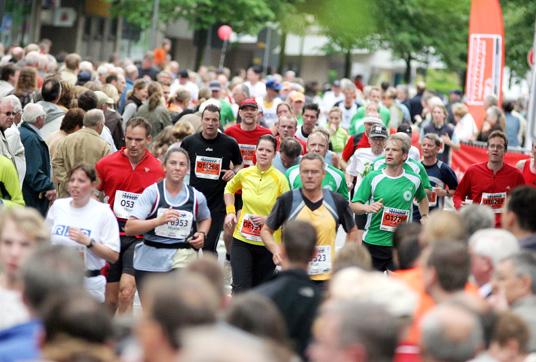 Das Bild zeigt den letzten Marathon in Gladbeck