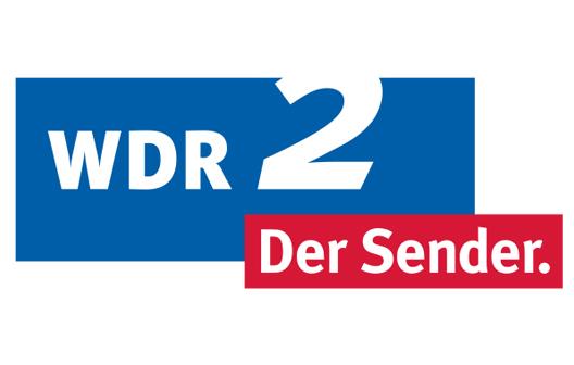 Das Bild zeigt das Logo des WDR