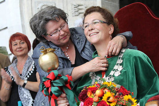 Das Bild zeigt das Appeltatenfest