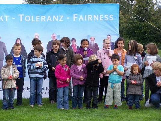 Das Bild zeigt das Stadtteilparkfest Butendorf