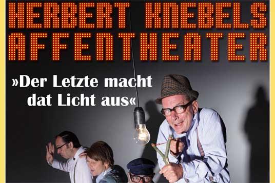 """Das Bild zeigt das Plakat """"Affentheater"""""""
