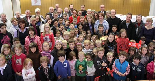Das Bild zeigt die Teilnehmer der Aktion