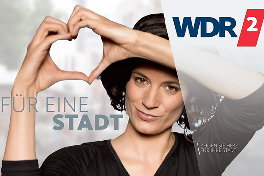 Das Bild zeigt die WDR-Aktion