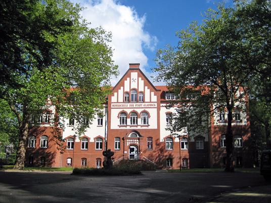 Das Bild zeigt die Musikschule Gladbeck