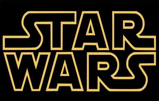 Das Bild zeigt das Logo von Star Wars
