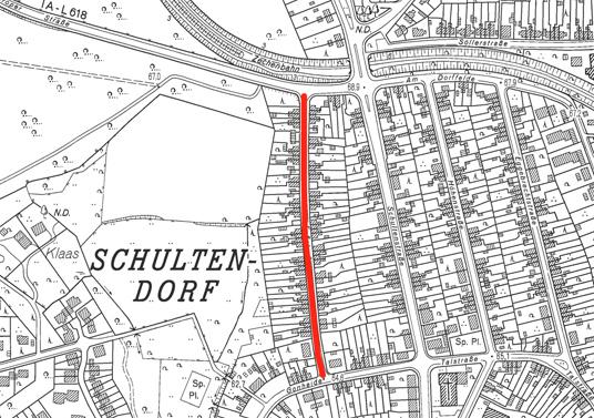Das Bild zeigt die Fußstraße