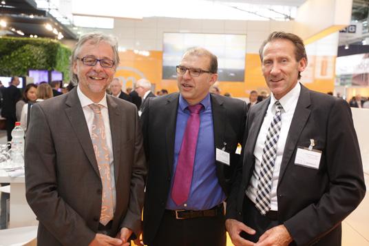 Das Bild zeigt Peter Breßer-Barnebeck, Peter Haumann, Frank Purrnhagen