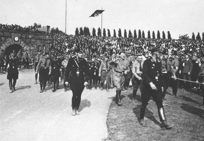 Adolf Hitler in der Vestischen Kampfbahn