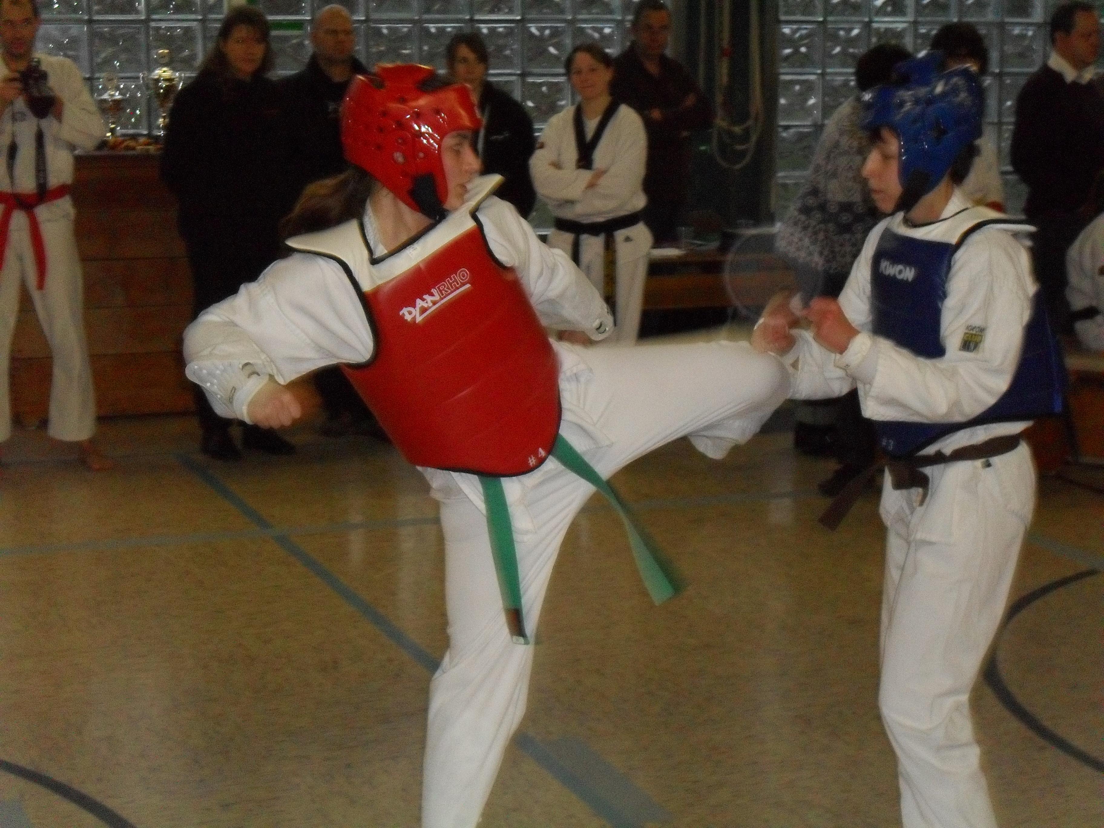 Yoon's Taekwondo Club Haltern e.V. beim Turnier in Dorsten 2010