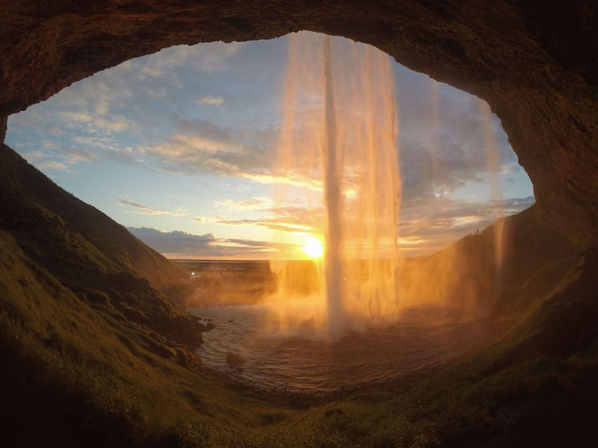 Mit solchen Fotos wartet Stephan Schulz aus Island auf.