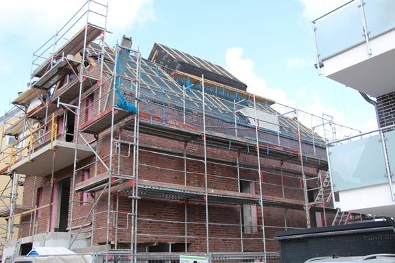 Neubauwohnungen werden seit geraumer Zeit stark nachgefragt.