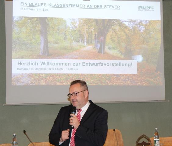 Bürgermeister Bodo Klimpel begrüßte die Gäste.