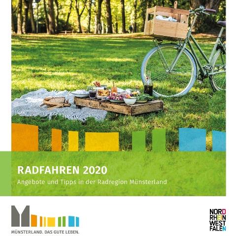 Ausschnitt aus dem Titelbild des Katalogs Radfahren-Foto Münsterland e.V.