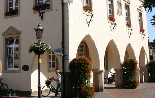 Das Alte Rathaus ist ein Schmuckstück.