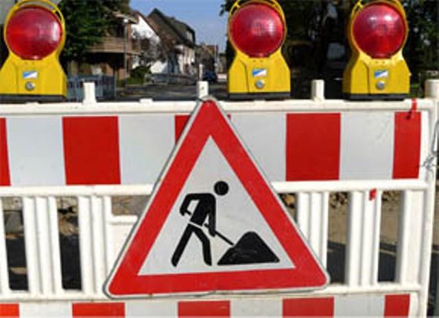 Achtung: Baustelle an der Flaesheimer Straße