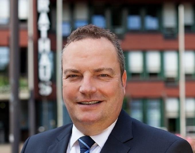 Bürgermeister Bodo Klimpel.
