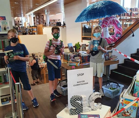 Der Sommerleseclub hat in der Stadtbücherei begonnen.