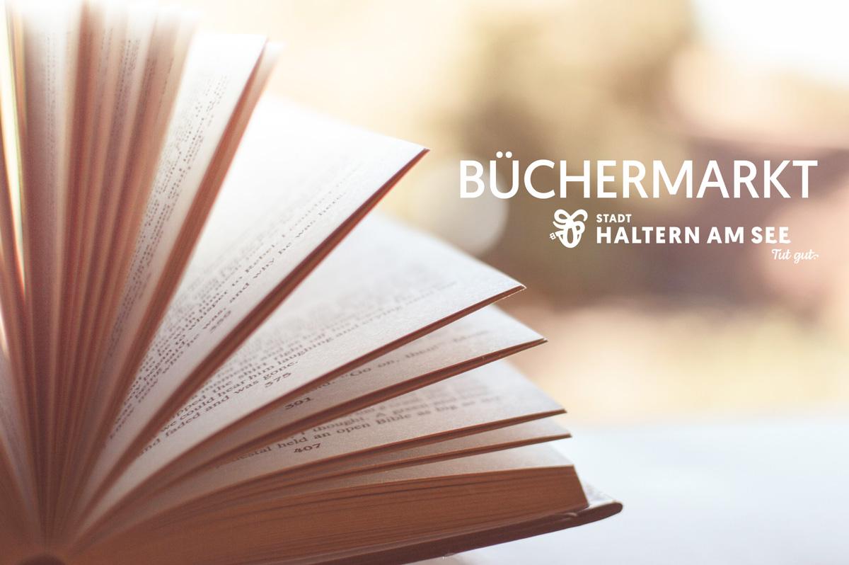 Auf dem Büchermarkt kann von 8 bis 16 Uhr gestöbert werden.