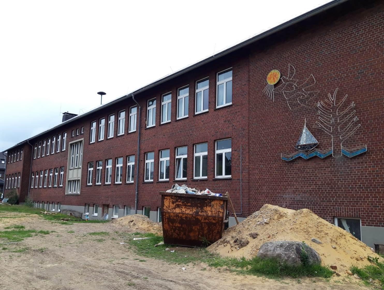 In der alten Martin-Luther-Schule entsteht eine Vier-Gruppen-Kita.