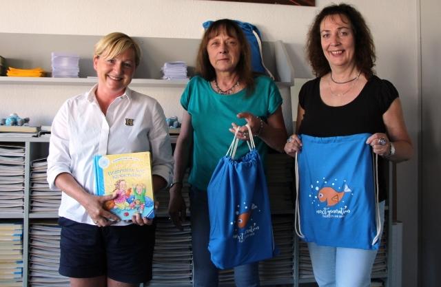 Das Städt. Foto zeigt v.l.: Susanne Peters, Ursula Twickler und Susanne Dammann. Es fehlt Monika Imig-Kunz.