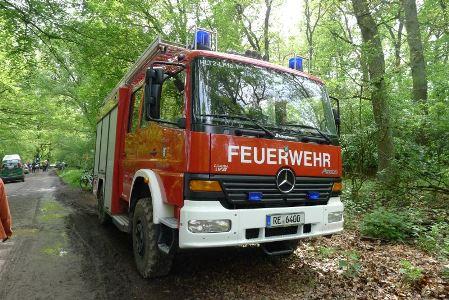 Die Feuerwehr musste schon einige Male Wald- und Flächenbrände löschen.