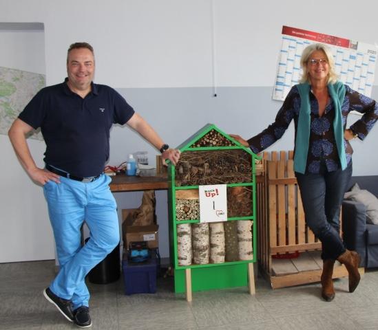 Dr. Bärbel Kerkhoff und Bodo Klimpel sind sich über die Bedeutung des BackUp-Programms einig.