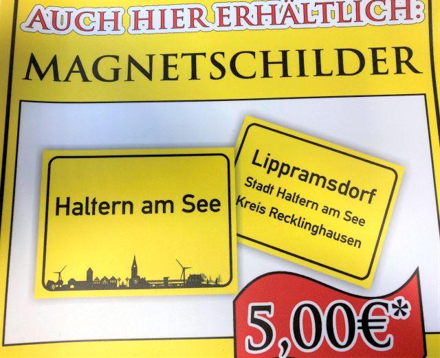 Foto von den Magnetschildern-Foto Stadtagentur