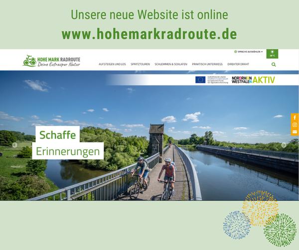 Titelbild der Homepage