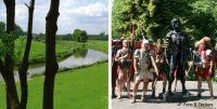 Bild von der Lippe und Römern, Fotos stadtagentur