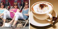 bild von freundinnen und kaffee foto stadtagentur