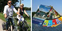 bild von radfahrern und von fahrradkarten foto stadtagentur