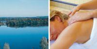 bild vom schwimmbad und massage foto stadtagentur