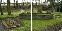 Bildkollage Jüdischer Friedhof