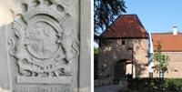 Bildkollage Schloss Sythen