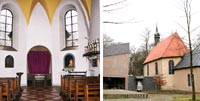 Bildkollage Wallfahrtskapelle und Pilgerkirche St. Anna