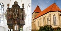 Bildkollage Stiftskirche St. Maria-Magdalena