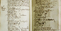 Historische Schriftrollen